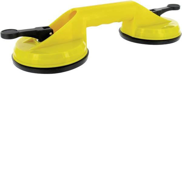 Martinetti - Ventosa doppia, colore: giallo Capacità di carico: 60 kg -