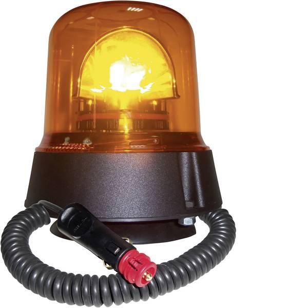 Lampeggianti e luci di segnalazione - AJ.BA Luce a tutto tondo GL.02 12 V, 24 V via rete a bordo Ventosa, Magnetico Arancione -
