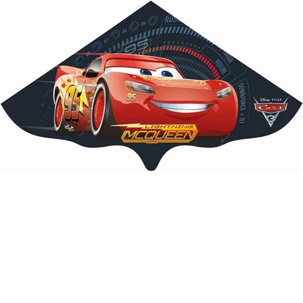 Aquiloni - Aquilone statico Monofilo Günther Flugspiele Disney Saetta Lightning McQueen Larghezza estensione 1150 mm Intensità  -