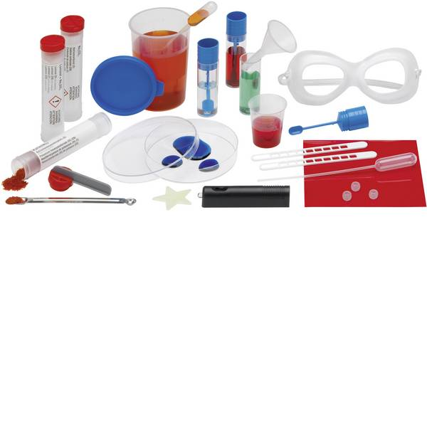 Kit di apprendimento chimica - Kit esperimenti Kosmos Chemisches Leuchten 644895 da 10 anni -