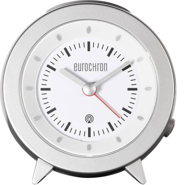 Sveglie - Eurochron RC155 Radiocontrollato Sveglia Argento -