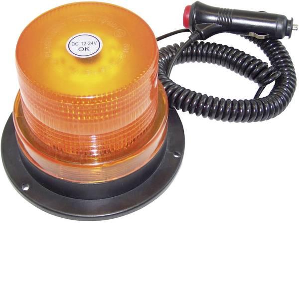 Lampeggianti e luci di segnalazione - Berger & Schröter Luce a tutto tondo 20200 12 V, 24 V via rete a bordo Magnetico, Montaggio a vite Arancione -