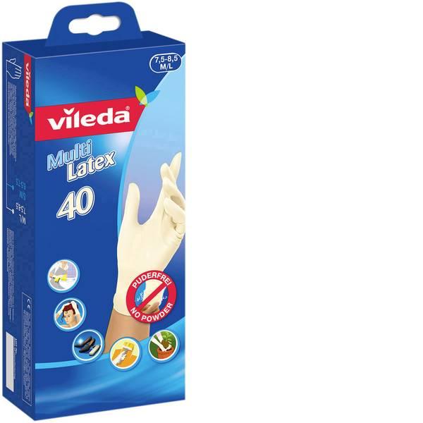 Pulizia della cucina e accessori - Guanti in gomma Vileda Multi Latex M/L 40 pezzi -