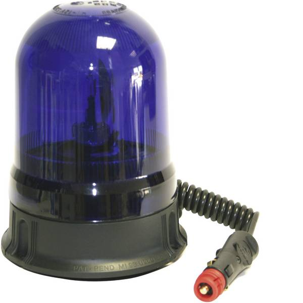 Lampeggianti e luci di segnalazione - AJ.BA Luce a tutto tondo GF.25 GF.25 ASTRAL 12 V, 24 V via rete a bordo Ventosa, Magnetico Blu -