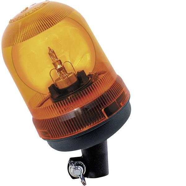 Lampeggianti e luci di segnalazione - AJ.BA Luce a tutto tondo GF.45 ASTRAL 12 V, 24 V via rete a bordo Supporto Arancione -