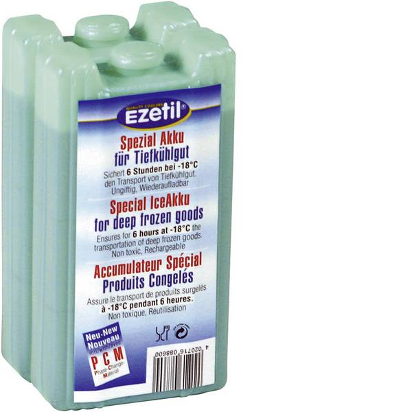 Accessori e ricambi per mini frigo - Accumulatore di freddo Ezetil IceAkku -18°C 2x430ml 886000 2 pz. (L x L x A) 85 x 70 x 170 mm -