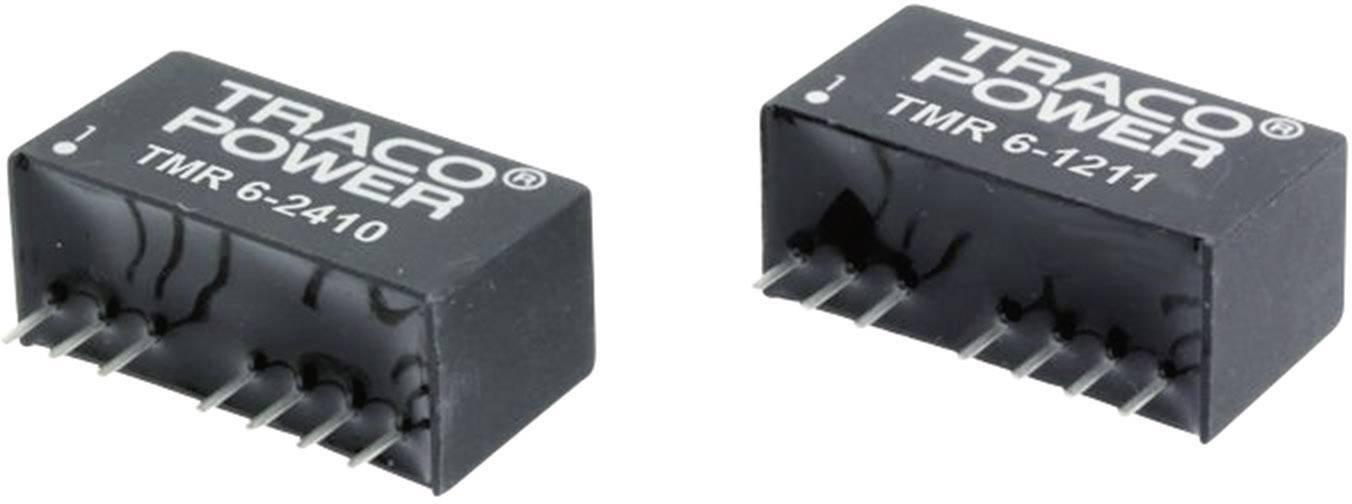 TracoPower TMR 6-0511 Convertitore DC/DC da circuito stampato 5 V/DC 5 V/DC 1.2 A 6 W Num. uscite: 1 x
