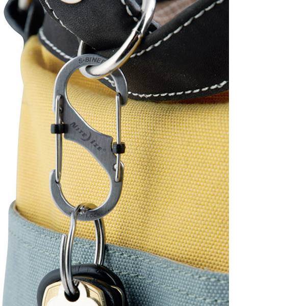 Tende e accessori - Moschettone NITE Ize SideLock S-Biner 2 NI-LSB2-11-R3 1 pz. -