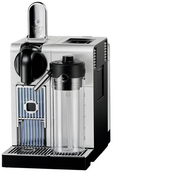 Macchine a capsule Nespresso - DeLonghi Latissima Pro EN 750.MB Argento-Nero Macchina per caffè con capsule con contenitore latte, One Touch -