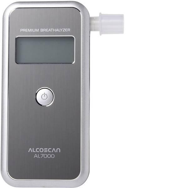 Etilometri - ACE AL7000 Etilometro Argento 0 fino a 4 ‰ Sensore sostituibile, incl. display -