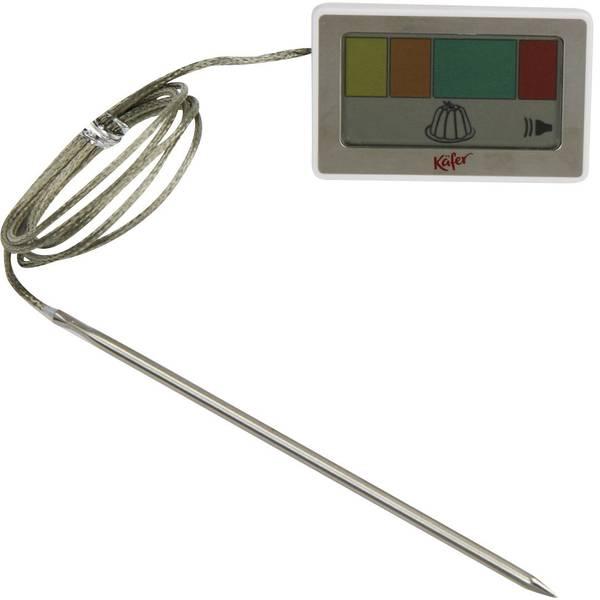 Termometri per la cucina - Käfer 7-3010 Termometro da cucina Cavo sensore, Controllo della temperatura Cottura al forno -