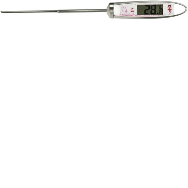 Termometri per la cucina - Käfer 7-3008 Termometro da cucina Allarme, Memoria / Funzione Data Hold Indicatore °C/°F, Alimenti per bambini, Liquidi,  -