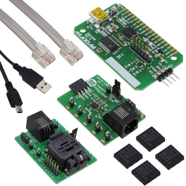 Kit e schede microcontroller MCU - Maxim Integrated Scheda di sviluppo DS28E22EVKIT# DeepCover® -