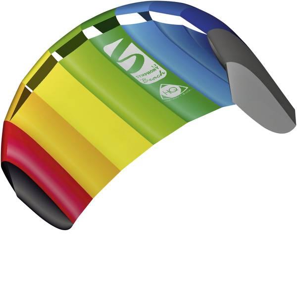 Aquiloni da trazione - Aquilone da trazione Bifilo HQ Symphony Beach 1.3 Rainbow Larghezza estensione 1300 mm Intensità forza del vento 2 - 6  -