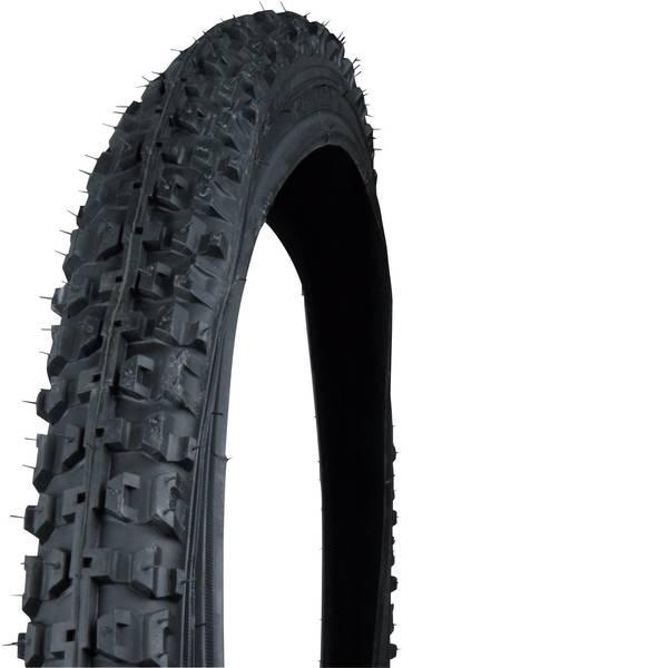 Pneumatici per bicicletta - Copertone pieghevole 26 pollici Fischer Fahrrad MTB 26x1,95 Nero -