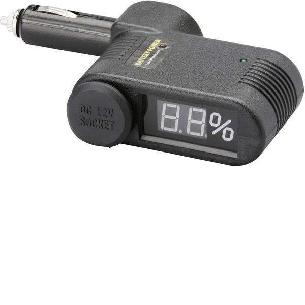 Accessori per presa accendisigari - Unitec Dispositivo di controllo della batteria 2 in 1 con indicatore di stato -