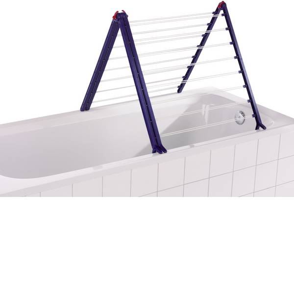 Stendibiancheria - Vasca da bagno leifheit essiccatore Pegasus V Duo -