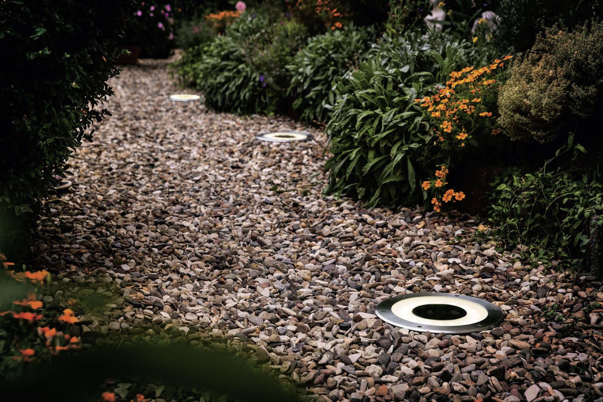 Illuminazione giardino senza corrente u moloney