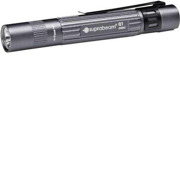 Mini torce - Lampada a forma di penna Penlight a batteria LED 9.8 cm Suprabeam 900.011 Q1 Mini Grigio -