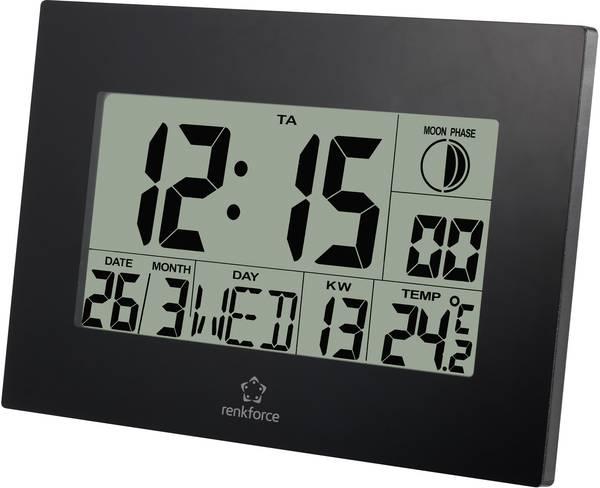 Renkforce e0311r radiocontrollato orologio da parete 230 for Orologio da parete radiocontrollato