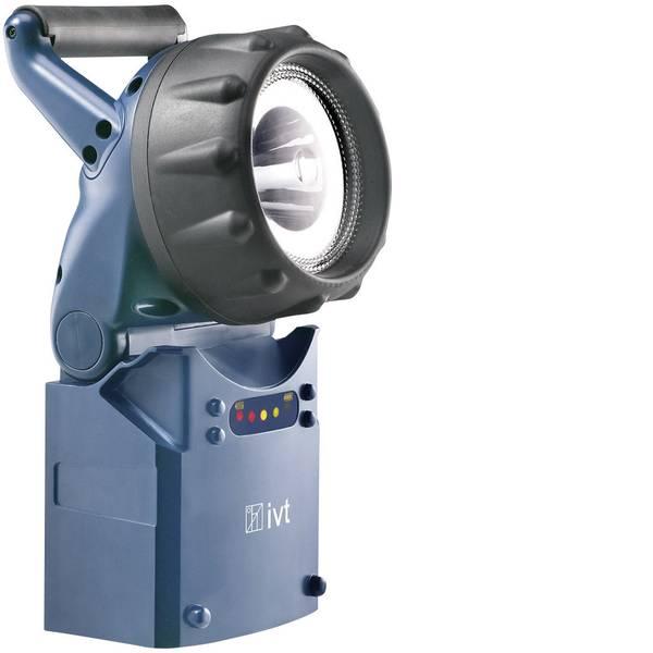 Torce con batterie ricaricabili - IVT 312208 Lampada portatile a batteria PL-850-3W Blu scuro LED 20 h -