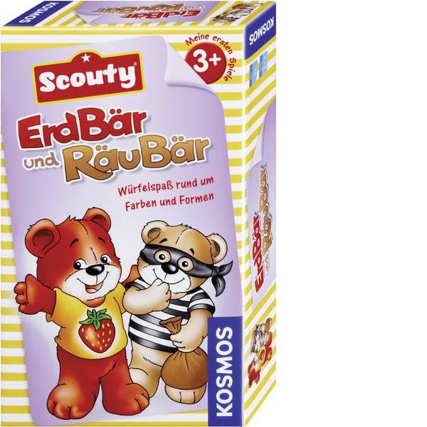 Kit esperimenti e pacchetti di apprendimento - Gioco per famiglia Kosmos Scouty - ErdBär und RäuBär 711016 da 3 anni -