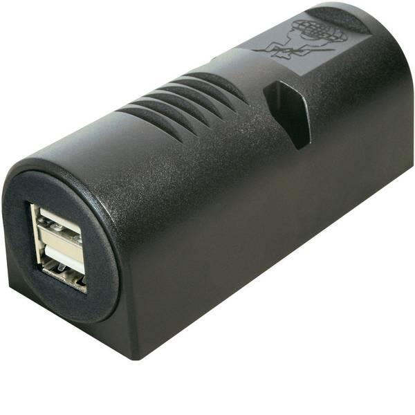 Accessori per presa accendisigari - ProCar Struttura USB presa doppia Portata massima corrente=5 A Adatto per USB-A -