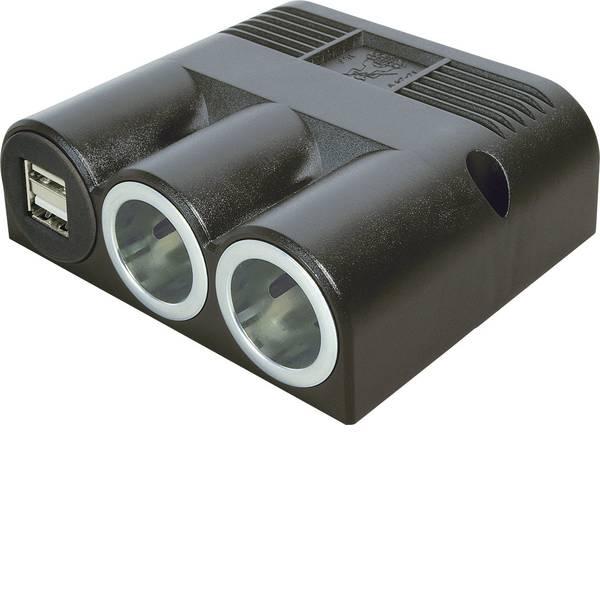 Multiprese per accendisigari - Distributore accendisigari Numero di accendisigari 2 x Interfacce: USB 2 x Portata massima corrente 16 A ProCar  -