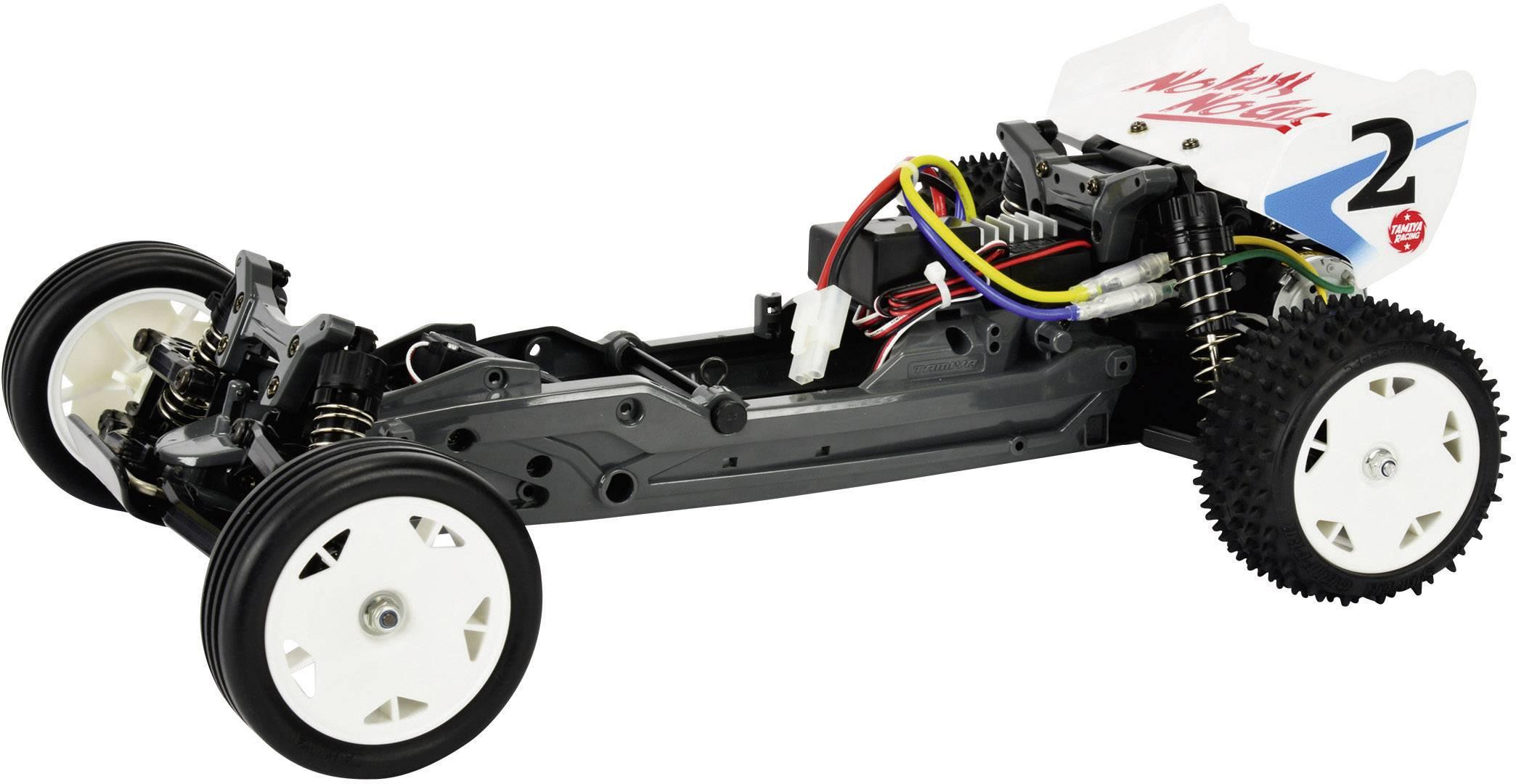 Automodello Tamiya Neo Fighter Brushed 110 Buggy Elettrica Trazione posteriore In kit da costruire 2,4 GHz Kit