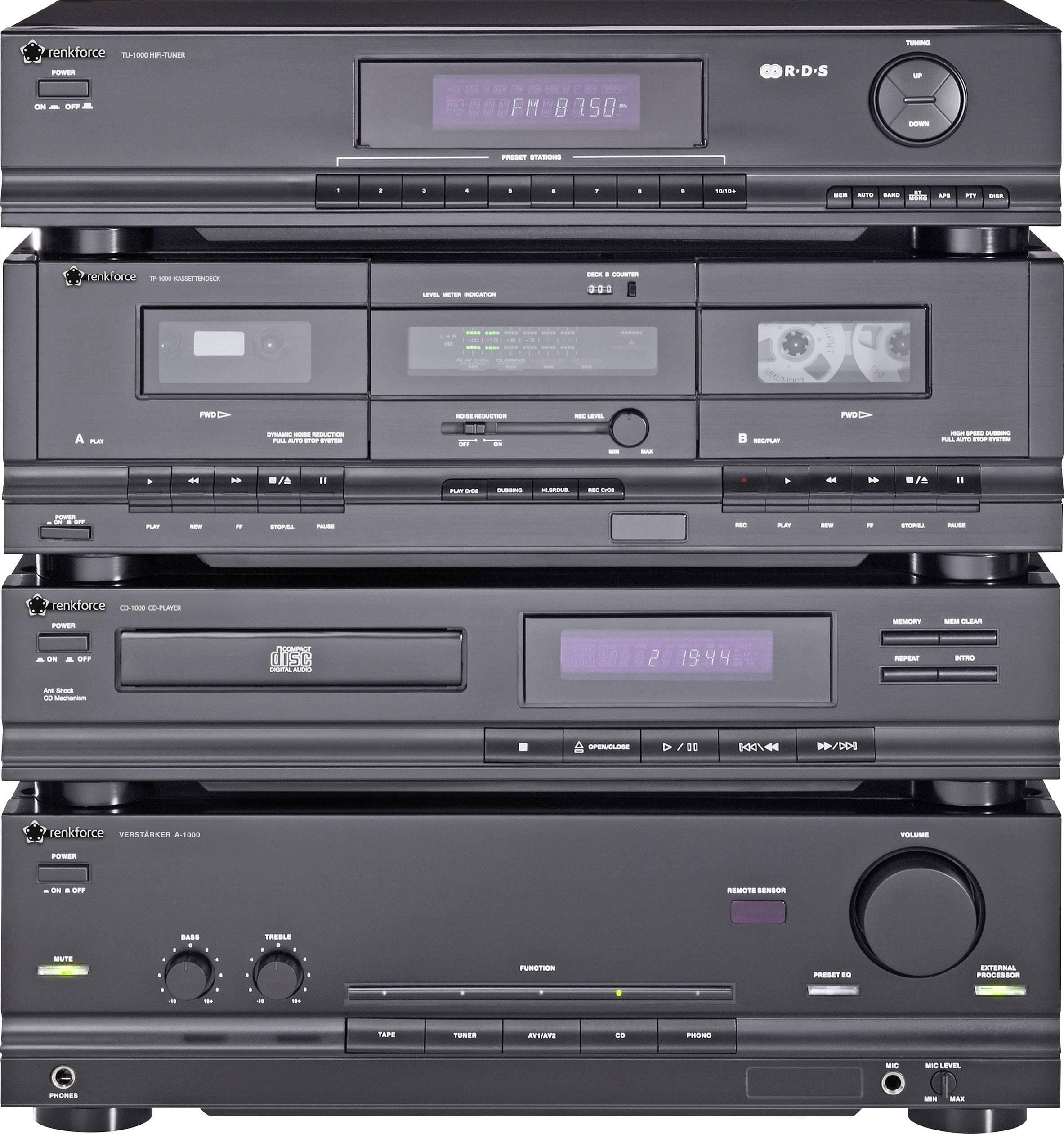 Schema Collegamento Equalizzatore Ad Amplificatore : Renkforce a amplificatore stereo w nero conrad