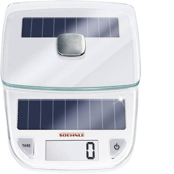Bilance da cucina - Soehnle Easy Solar Bilancia da cucina digitale digitale Portata max.=5 kg Bianco -