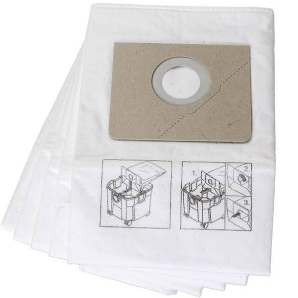 Accessori per aspirapolvere e aspiraliquidi - Sacchetto filtrante Kit da 5 Fein 31345061010 5 pz. -