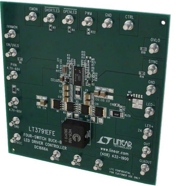 Kit e schede microcontroller MCU - Linear Technology Scheda di sviluppo DC1666A LTM®, µModule® -