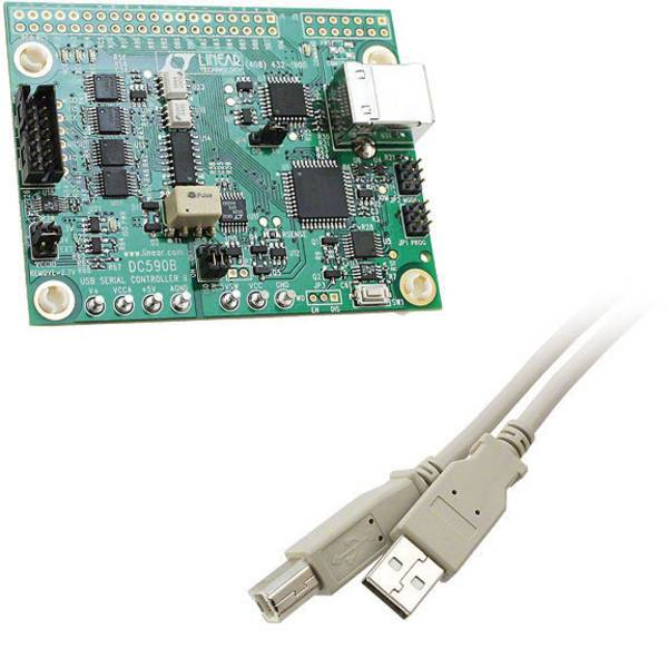 Kit e schede microcontroller MCU - Linear Technology Scheda di sviluppo DC590B -