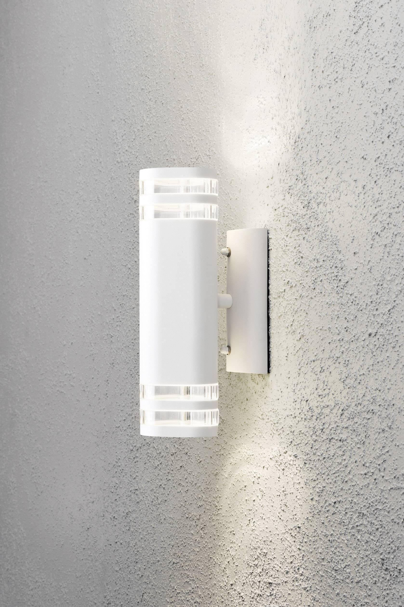 Muro in alluminio Lampada Modena BIG BIANCO UP e DOWN esterno Konstsmide 7516-250