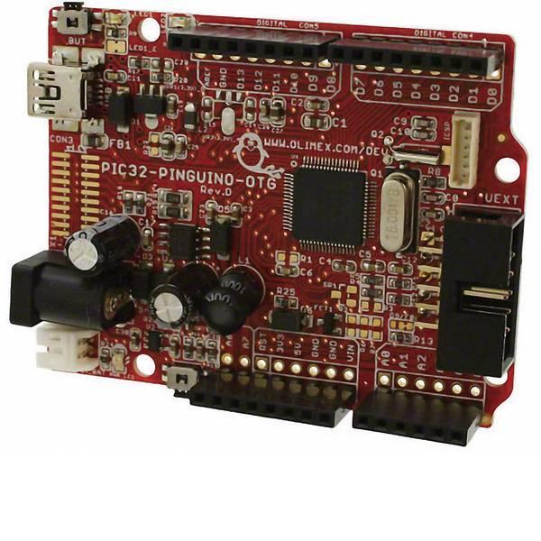 Kit e schede microcontroller MCU - Olimex Scheda di sviluppo PIC32-PINGUINO-OTG -
