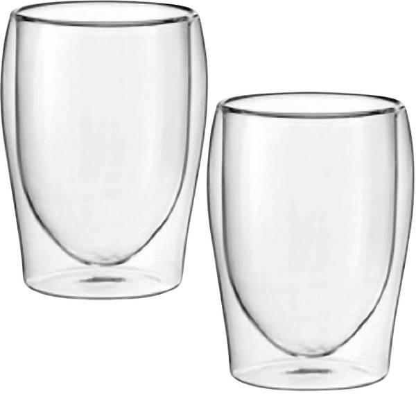 Stoviglie, posate e bicchieri - Bicchiere termico per cappuccino Scanpart 300 ml 2 pezzi -