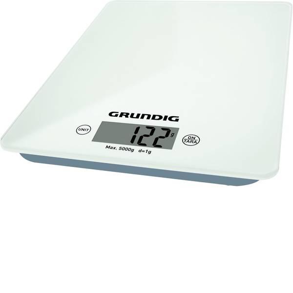 Bilance da cucina - Grundig KW 4060 Bilancia da cucina digitale Portata max.=5 kg Bianco -