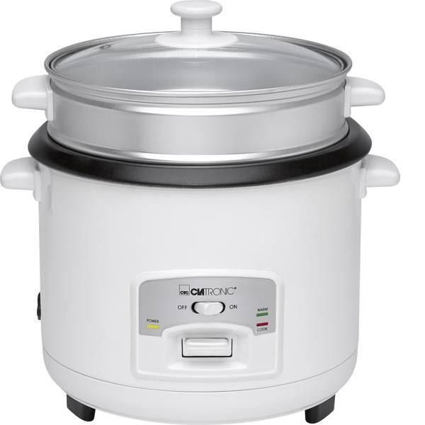 Cuoci riso - Cuoci riso Clatronic RK 3566 Bianco con funzione vapore -