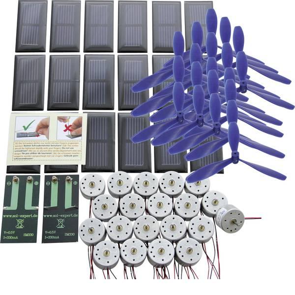 Kit di energie rinnovabili - Sol Expert Basic I-Set mit Schraubanschluss Kit solare per la scuola -
