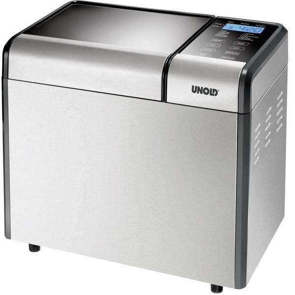 Macchine per il pane - Macchina del pane Funzione timer Unold Backmeister Top Edition Argento (opaco) -