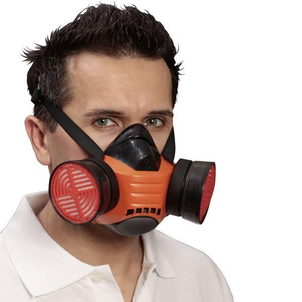 Mascherine per la protezione delle vie respiratorie - Respiratore a semimaschera senza filtro EKASTU Sekur Polimask BETA 433 506 -