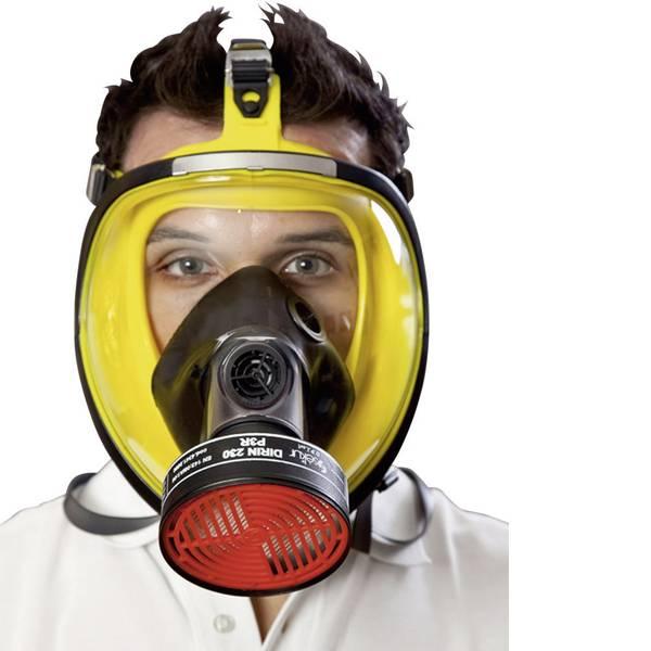 Maschere integrali per protezione delle vie respiratorie - Respiratore a maschera pieno facciale senza filtro Taglia dim.: Uni EKASTU Sekur SFERA 466 618 -