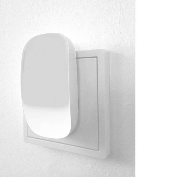 Luci notturne - Müller Licht 57023 Lampada notturna Ovale LED Ambra Bianco -