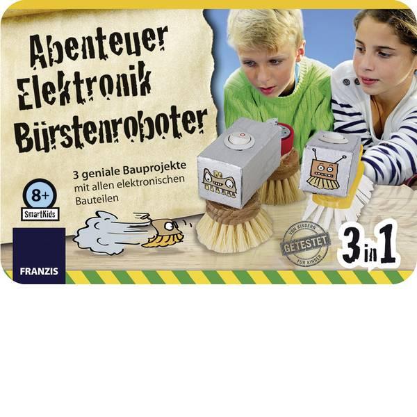 Pacchetti di apprendimento elettrici ed elettronici - Franzis Verlag Abenteuer Elektronik Bürsten Roboter 978-3-645-65239-1 Kit per esperimenti da 8 anni -
