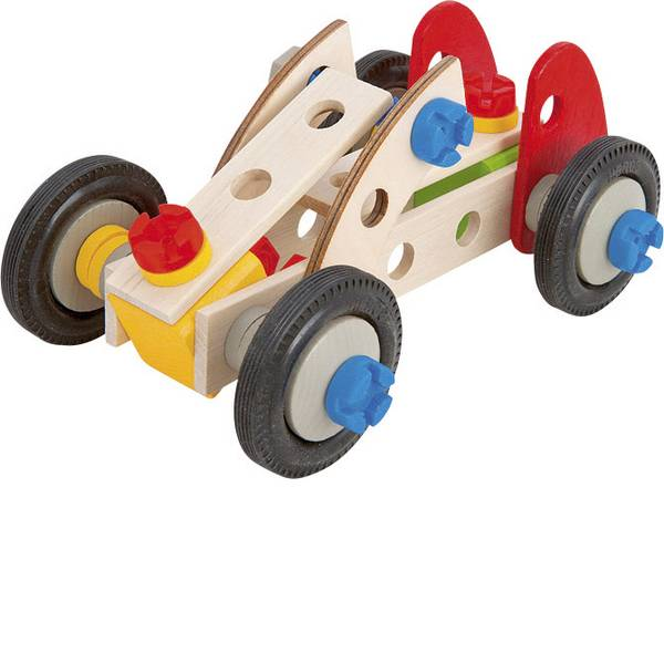 Giocattoli da costruire - Auto da corsa da costruire Heros Constructor Numero parti: 50 Numero modelli: 3 Classe di età: da 3 anni -