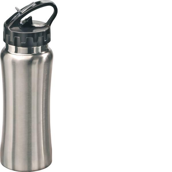 Brocche e tazze - MATO bottiglia sportiva sporty argento in acciaio inox 0,5 litri -