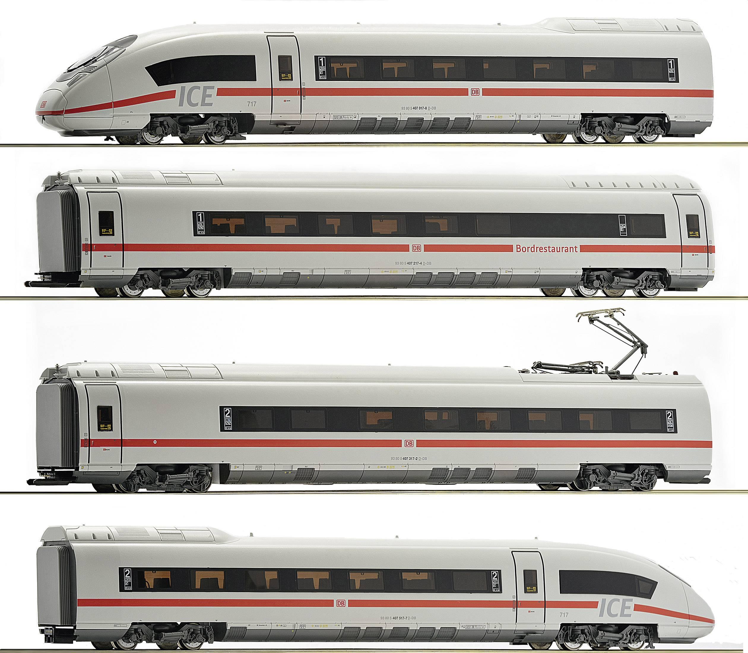 Roco 72040 Treno motore H0 ICE