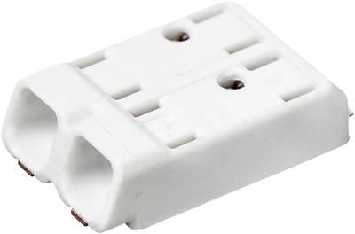 Adels-Contact SMDflat 345/2 Morsetto con collegamento a molla 0.75 mm² Poli 2 Bianco 1 pz.