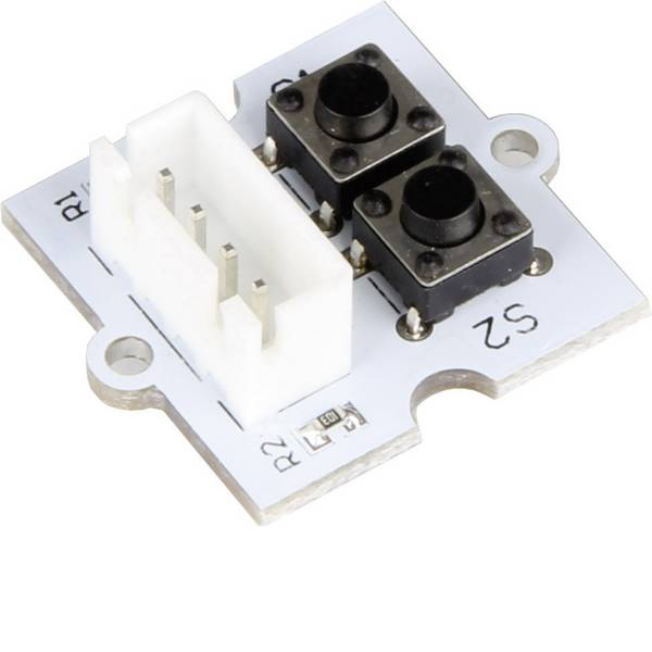 Moduli e schede Breakout per schede di sviluppo - Scheda di espansione Linker Kit 2 pulsanti LK-Button2 pcDuino, Raspberry Pi® A, B, B+, Arduino -